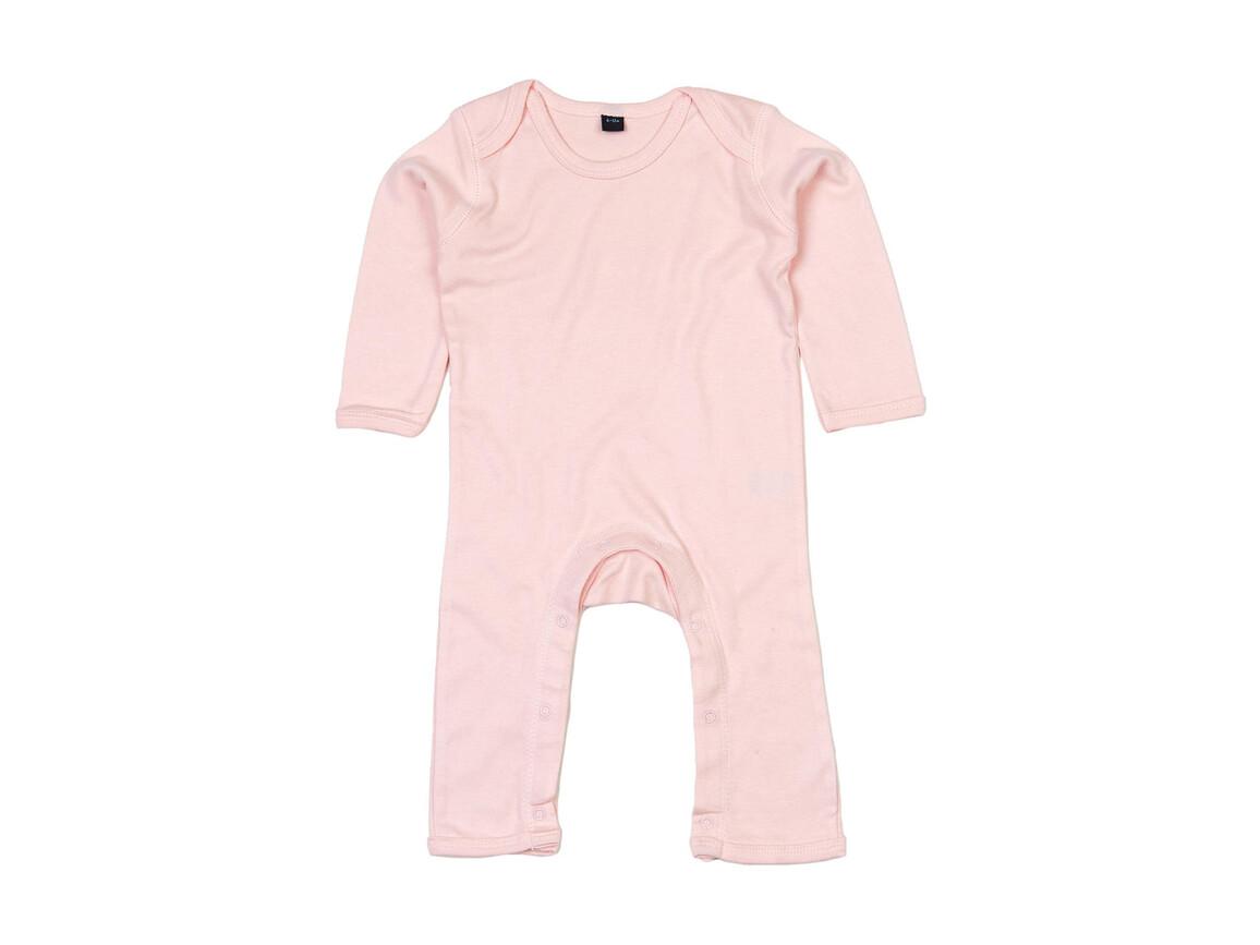 BabyBugz Baby Rompasuit, Powder Pink, 12-18 bedrucken, Art.-Nr. 013474174