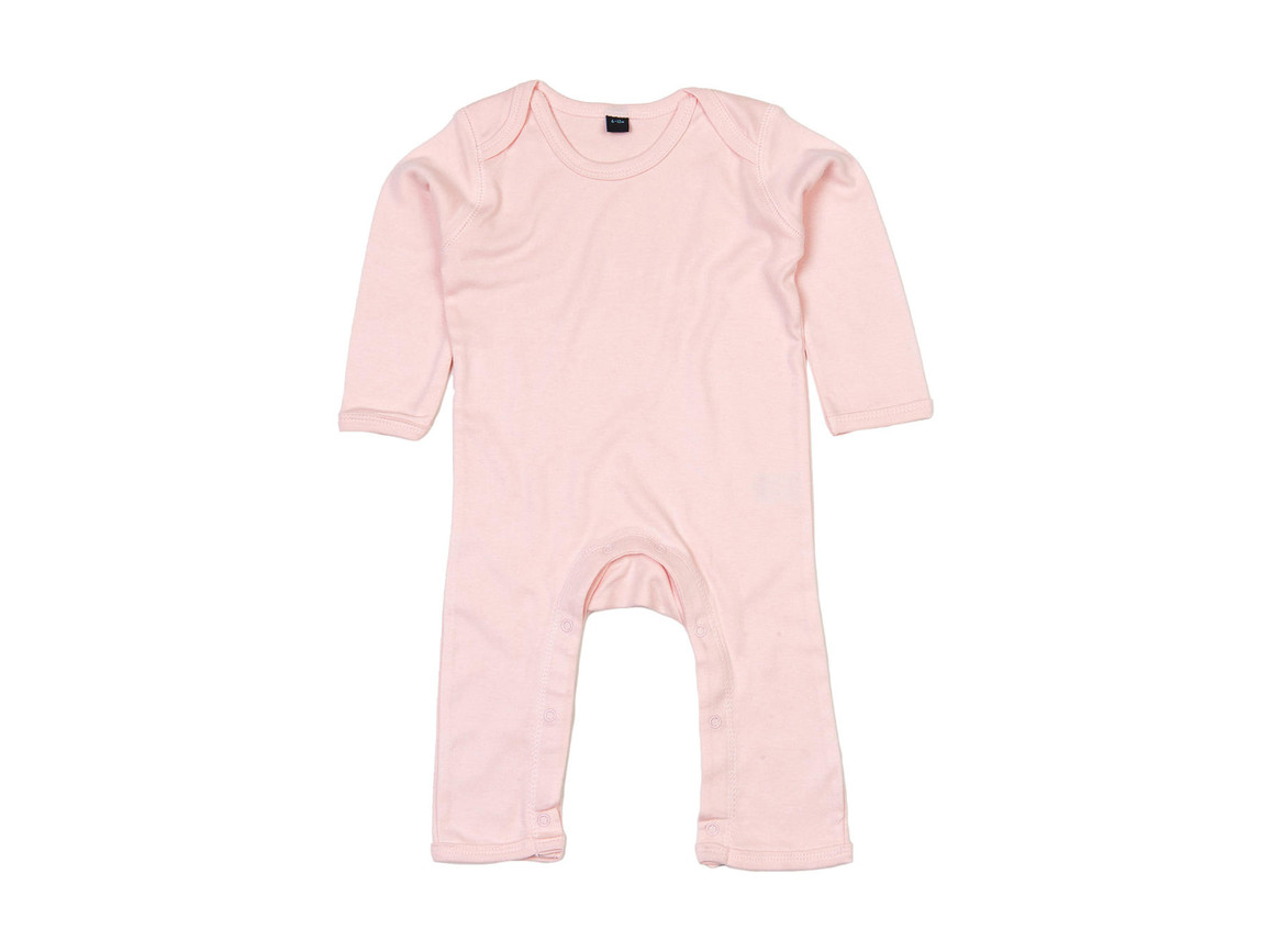 BabyBugz Baby Rompasuit, Powder Pink, 3-6 bedrucken, Art.-Nr. 013474172