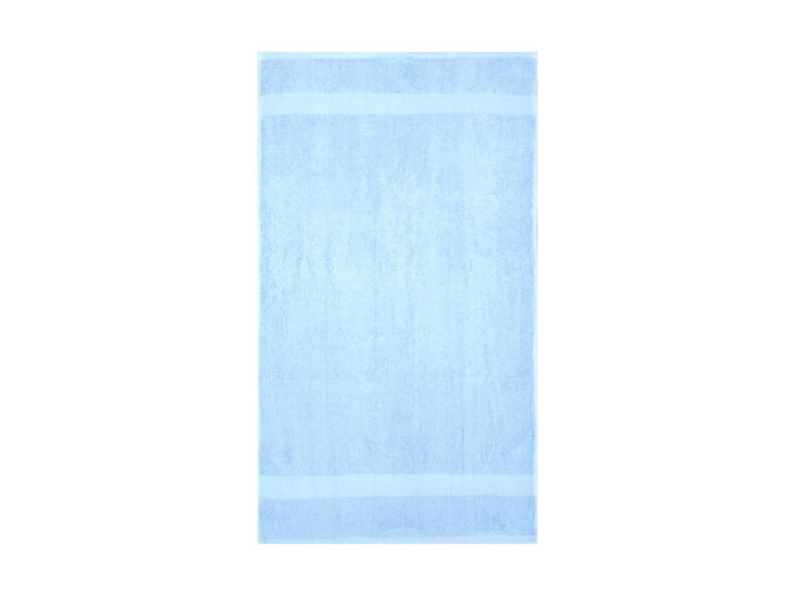 Jassz Towels Tiber Beach Towel 100x180 cm, Placid Blue, One Size bedrucken, Art.-Nr. 013643010