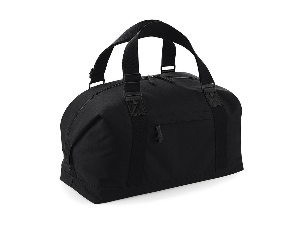 Bag Base Vintage Overnighter, Black, One Size bedrucken, Art.-Nr. 014291010