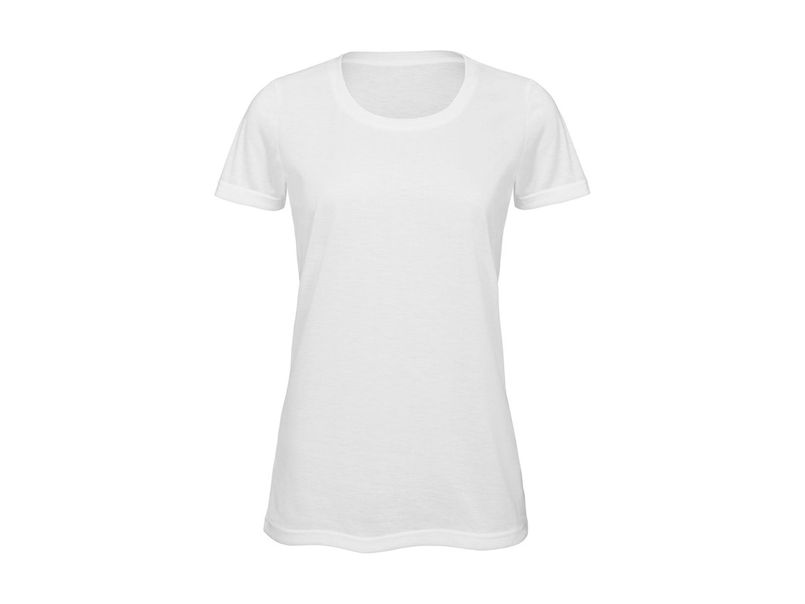 B & C Sublimation/women T-Shirt, White, S bedrucken, Art.-Nr. 014420003