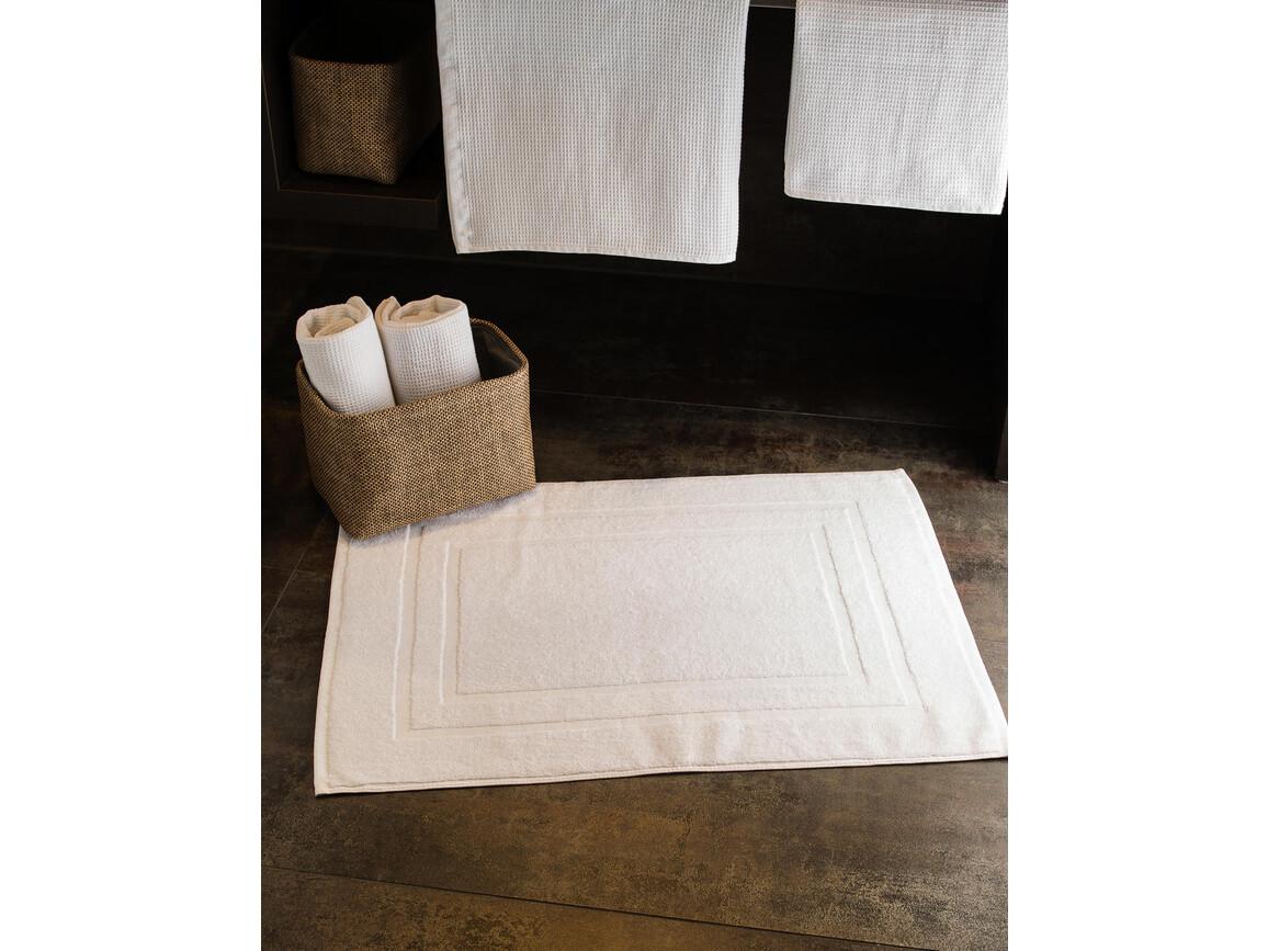 Jassz Towels Tiber Bath Mat 50x70 cm, Snowwhite, One Size bedrucken, Art.-Nr. 014640010