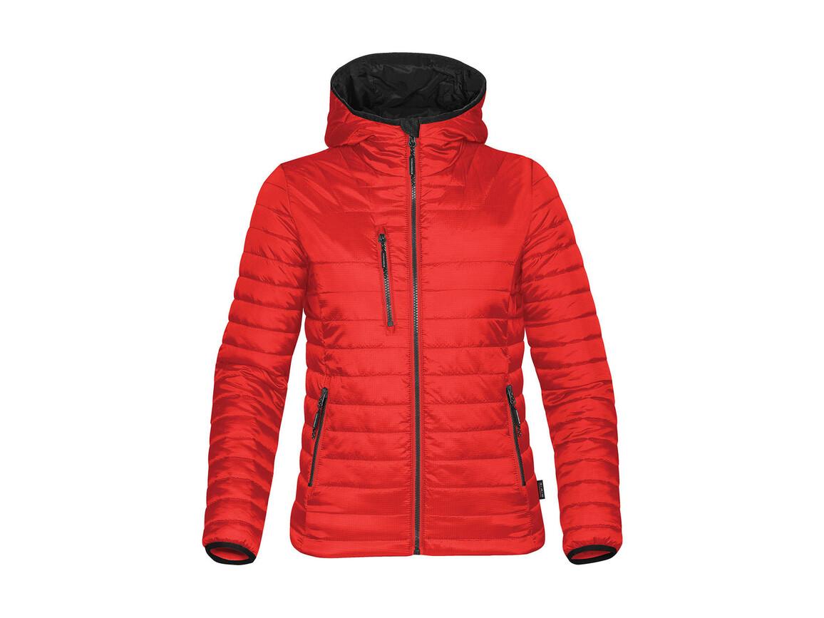 StormTech Women`s Gravity Thermal Jacket, True Red/Black, S bedrucken, Art.-Nr. 015184573