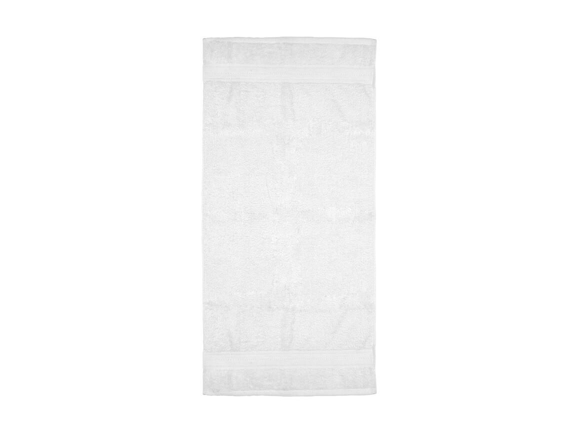Jassz Towels Rhine Hand Towel 50x100 cm, White, One Size bedrucken, Art.-Nr. 015640000