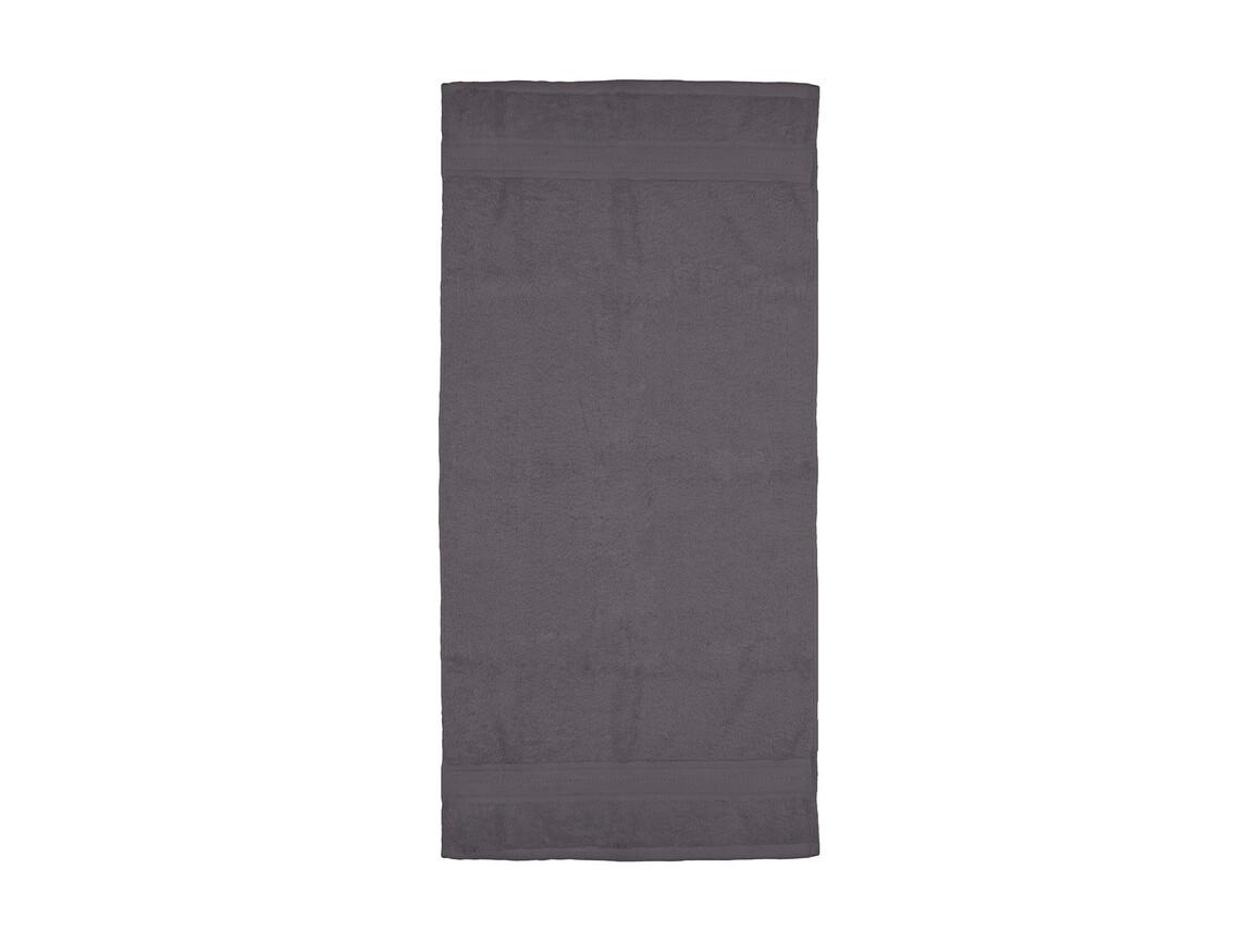 Jassz Towels Rhine Hand Towel 50x100 cm, Grey, One Size bedrucken, Art.-Nr. 015641210