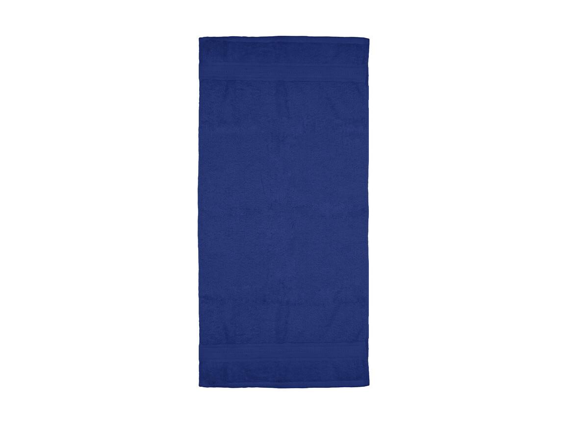 Jassz Towels Rhine Hand Towel 50x100 cm, Navy, One Size bedrucken, Art.-Nr. 015642000
