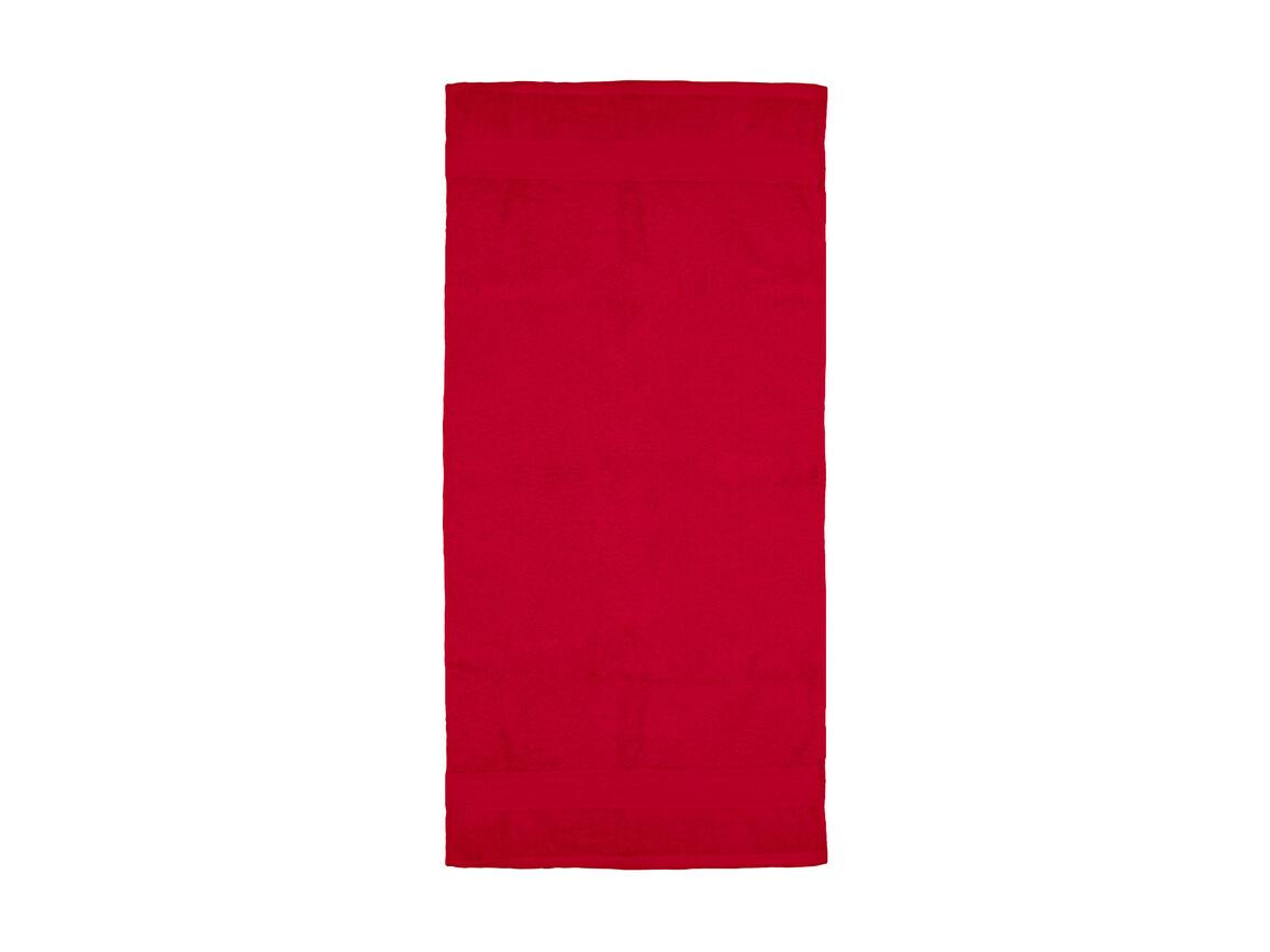Jassz Towels Rhine Hand Towel 50x100 cm, Red, One Size bedrucken, Art.-Nr. 015644000
