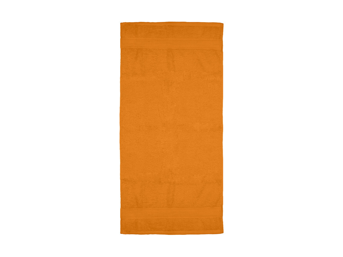 Jassz Towels Rhine Hand Towel 50x100 cm, Bright Orange, One Size bedrucken, Art.-Nr. 015644130