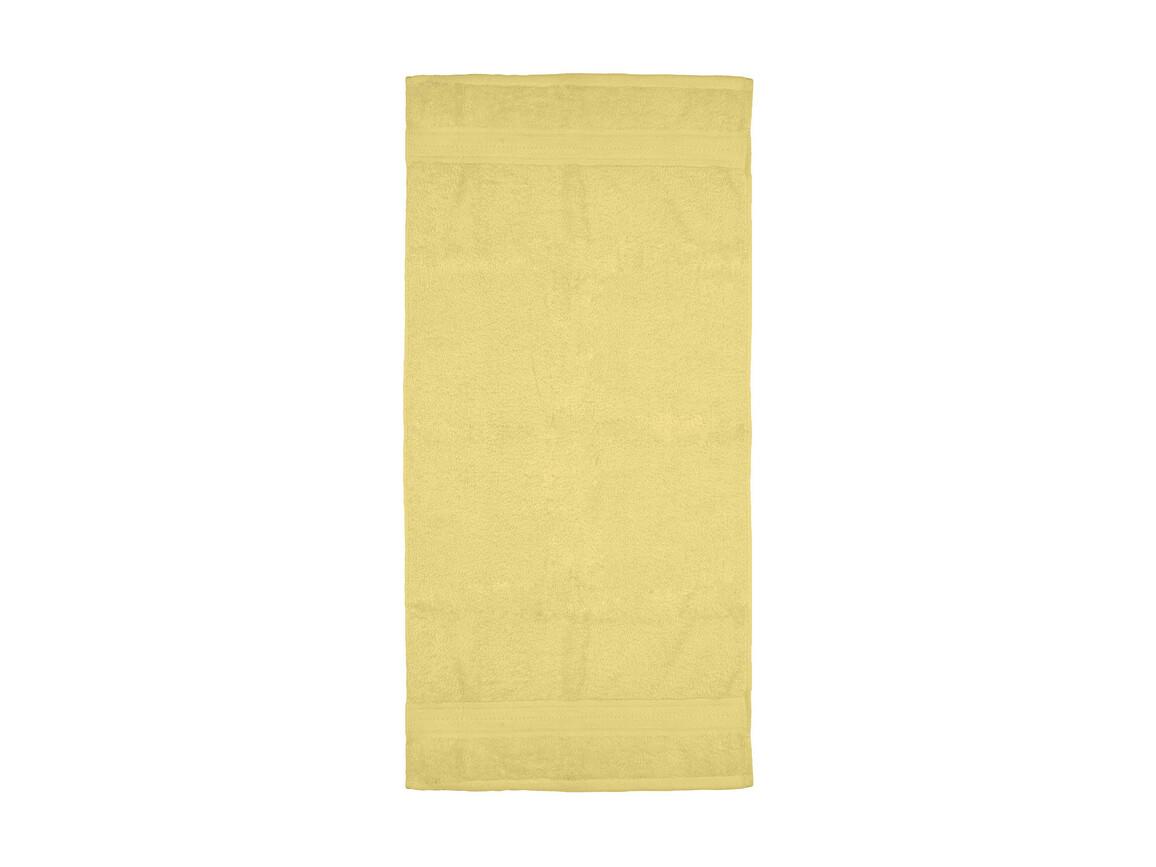 Jassz Towels Rhine Hand Towel 50x100 cm, Yellow, One Size bedrucken, Art.-Nr. 015646000