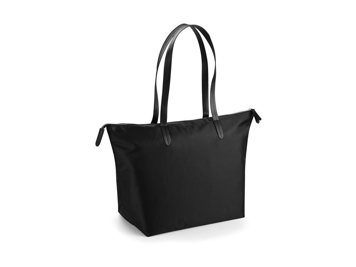 Bag Base Riviera Tote, Black, One Size bedrucken, Art.-Nr. 016291010