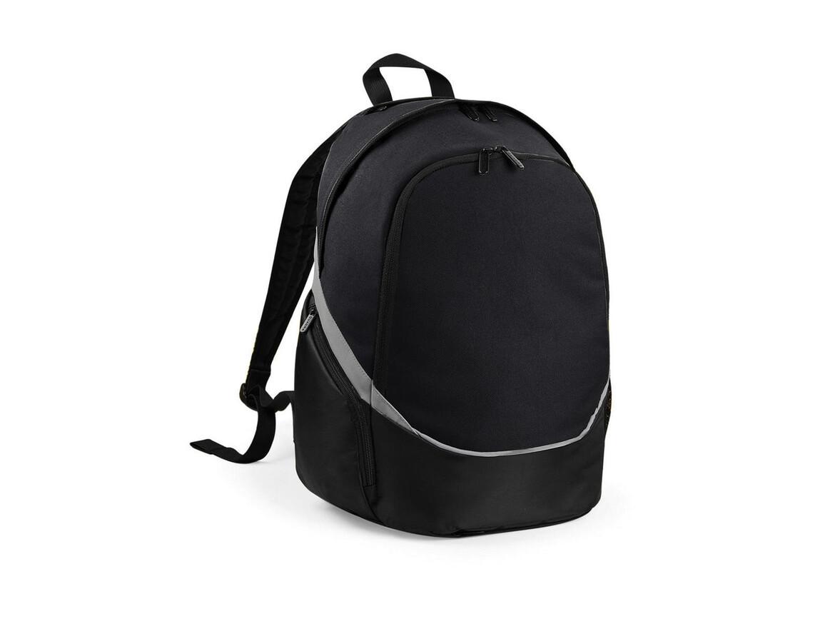 Quadra Pro Team Backpack, Black/Grey, One Size bedrucken, Art.-Nr. 016301580
