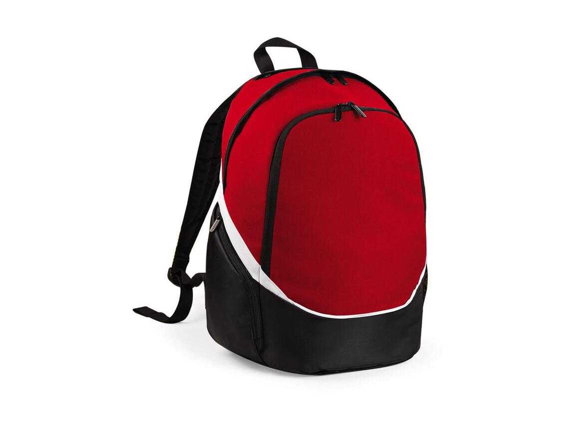 Quadra Pro Team Backpack, Classic Red/Black/White, One Size bedrucken, Art.-Nr. 016304860