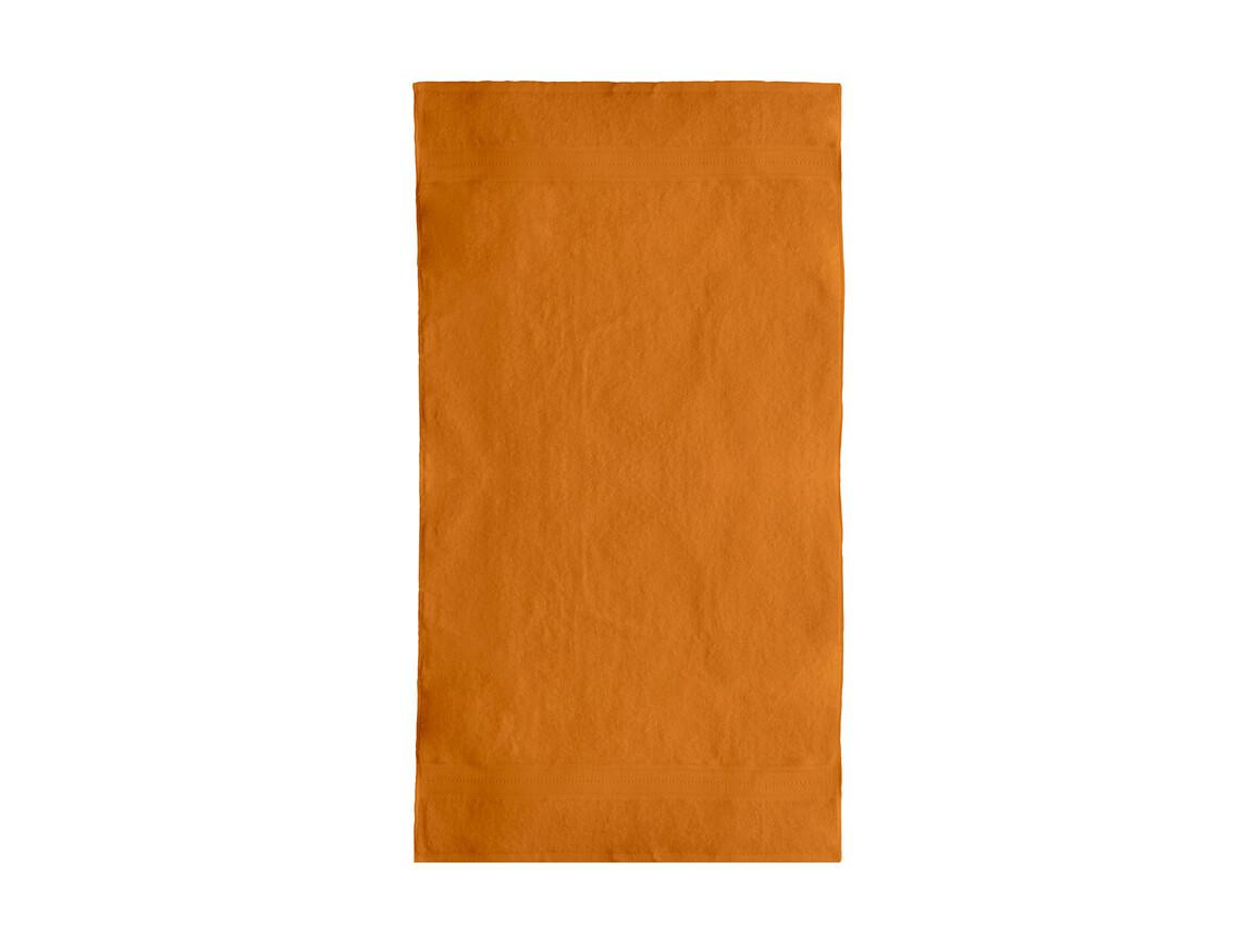 Jassz Towels Rhine Bath Towel 70x140 cm, Bright Orange, One Size bedrucken, Art.-Nr. 016644130