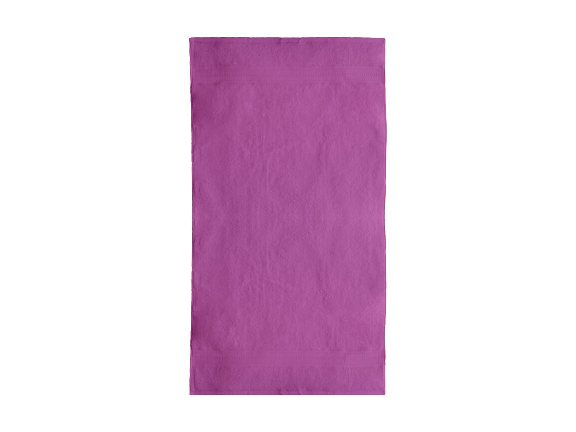 Jassz Towels Rhine Bath Towel 70x140 cm, Fuchsia, One Size bedrucken, Art.-Nr. 016644390