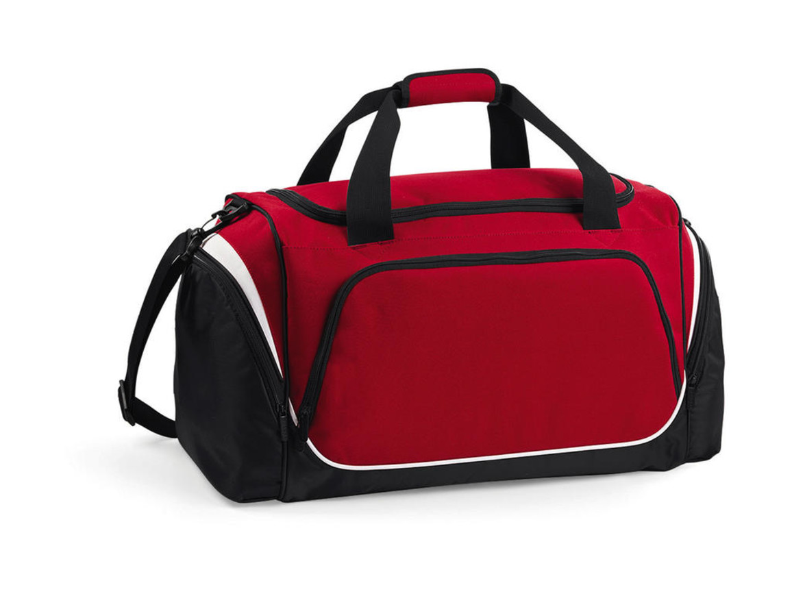 Quadra Pro Team Holdall, Classic Red/Black/White, One Size bedrucken, Art.-Nr. 017304860
