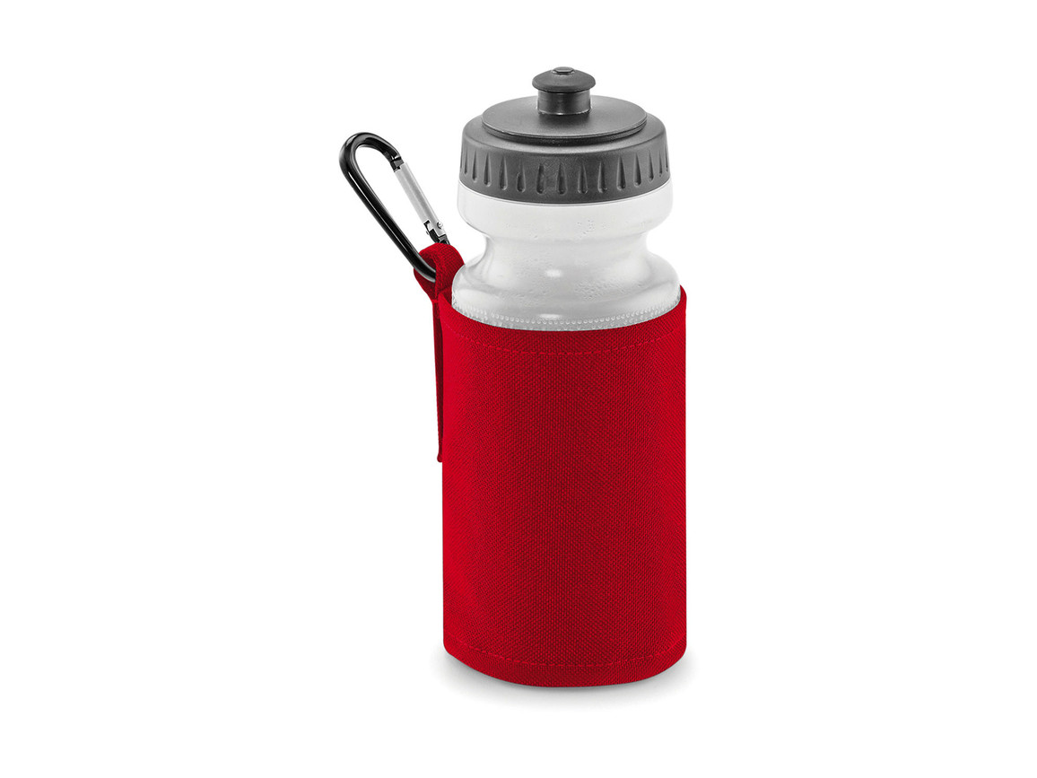 Quadra Water Bottle And Holder, Classic Red, One Size bedrucken, Art.-Nr. 046304010