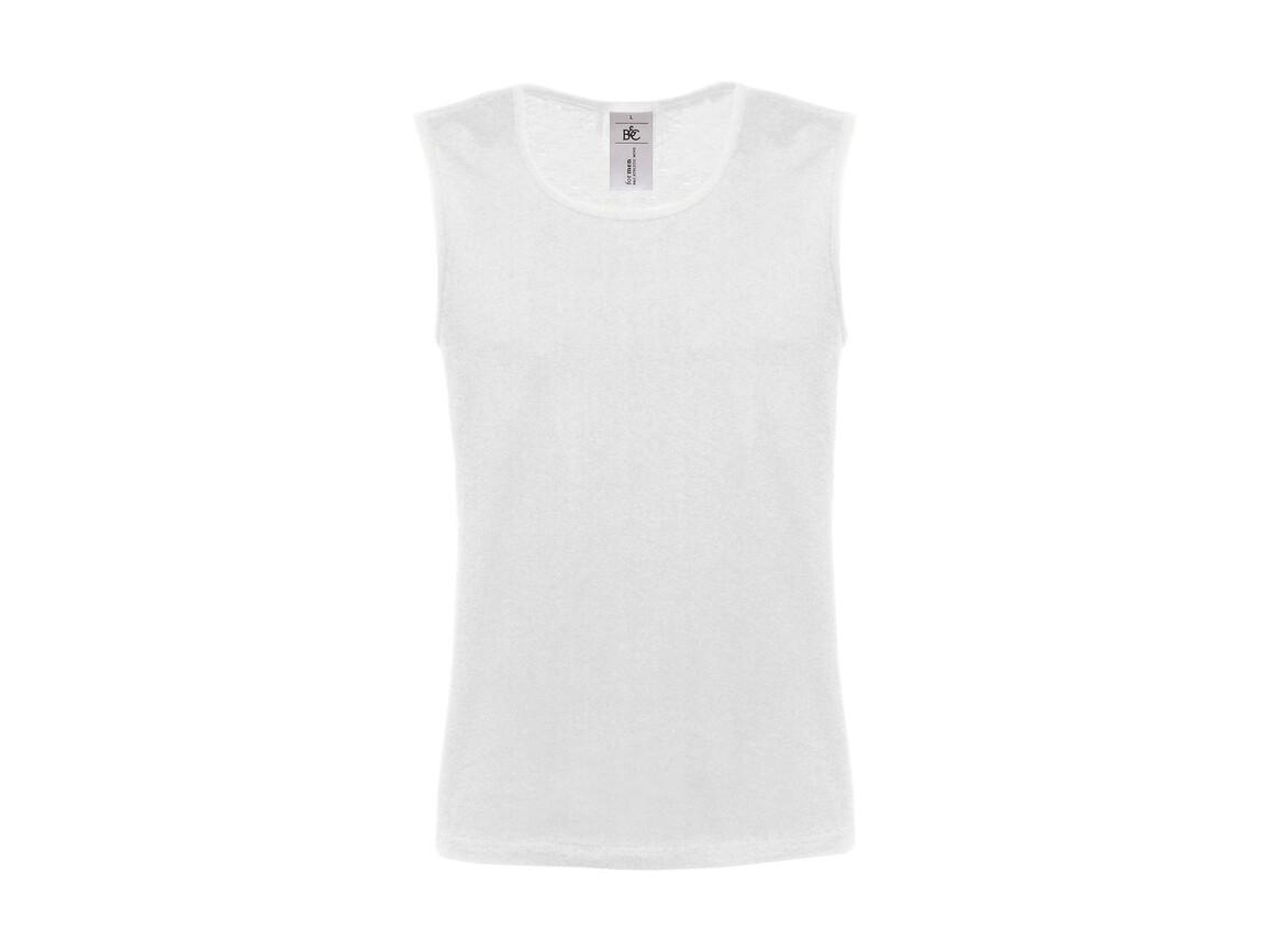 B & C Athletic Move Shirt, White, L bedrucken, Art.-Nr. 147420005