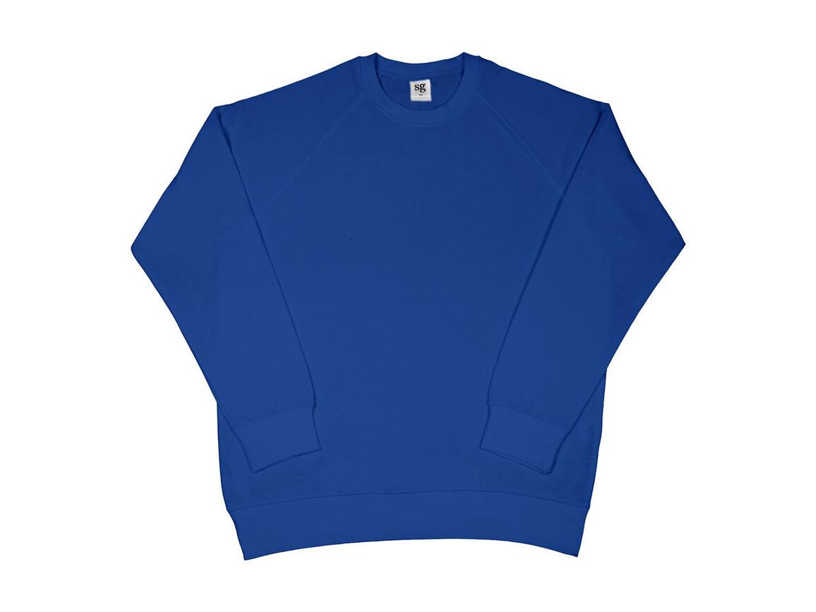 SG Raglan Sweat Men, Royal Blue, XL bedrucken, Art.-Nr. 237523006