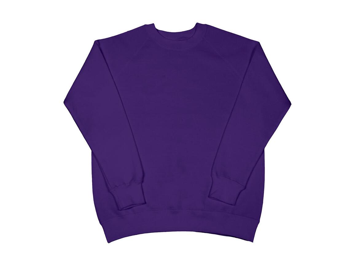 SG Raglan Sweat Ladies, Purple, XL bedrucken, Art.-Nr. 250523496