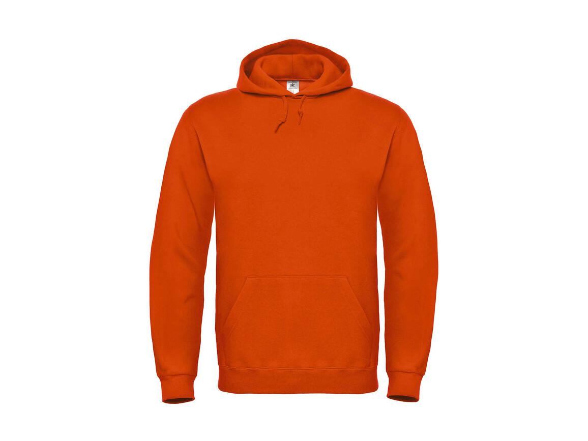 B & C ID.003 Cotton Rich Hooded Sweatshirt, Orange, 3XL bedrucken, Art.-Nr. 275424108