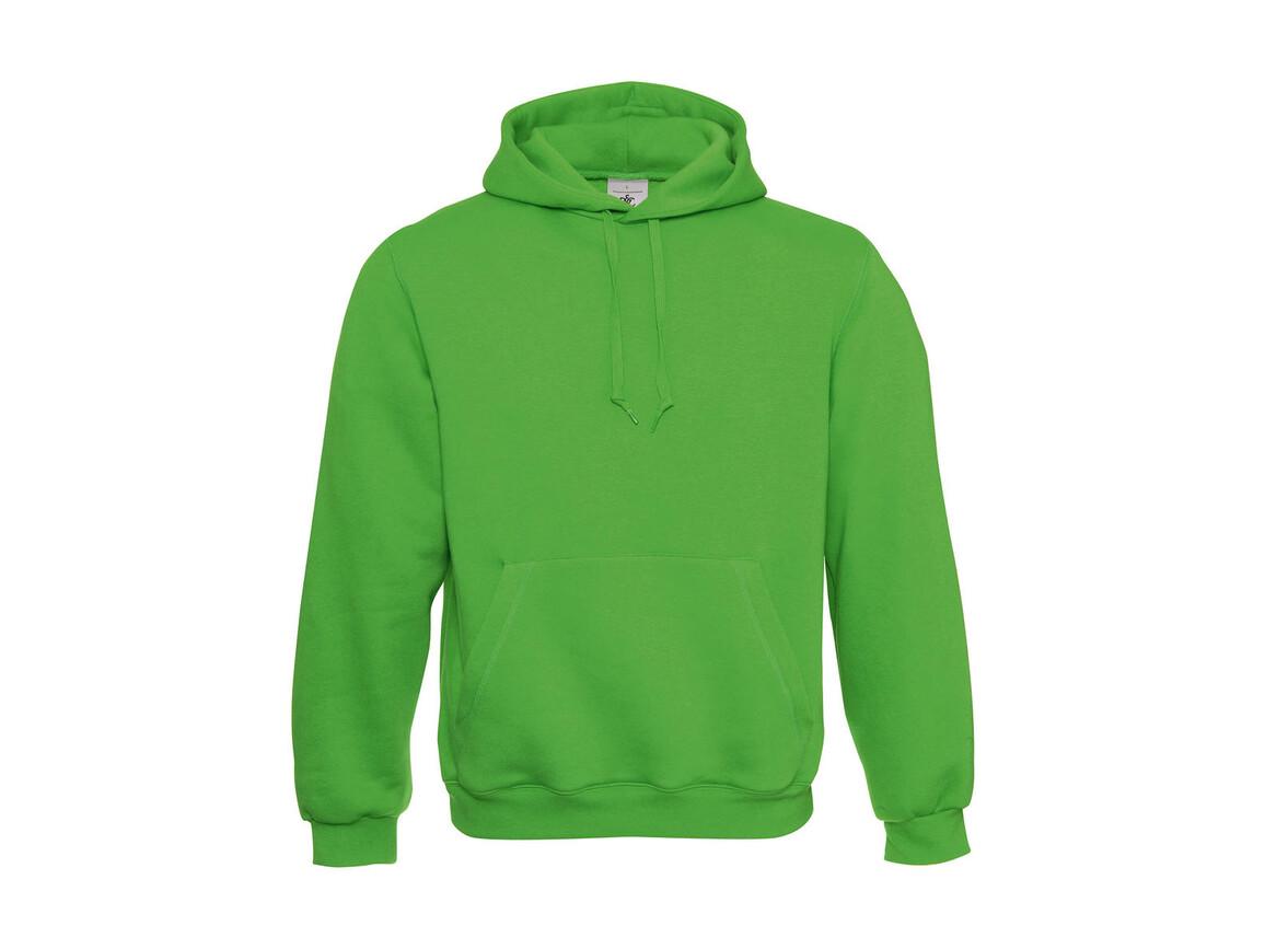 B & C Hooded Sweatshirt, Real Green, S bedrucken, Art.-Nr. 276425033