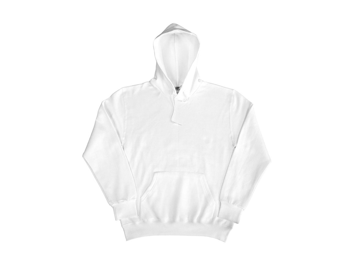 SG Hooded Sweatshirt, White, S bedrucken, Art.-Nr. 276520003