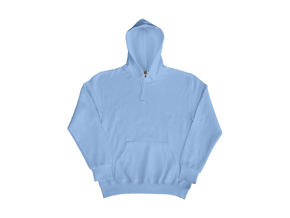 SG Hooded Sweatshirt, Sky, M bedrucken, Art.-Nr. 276523204