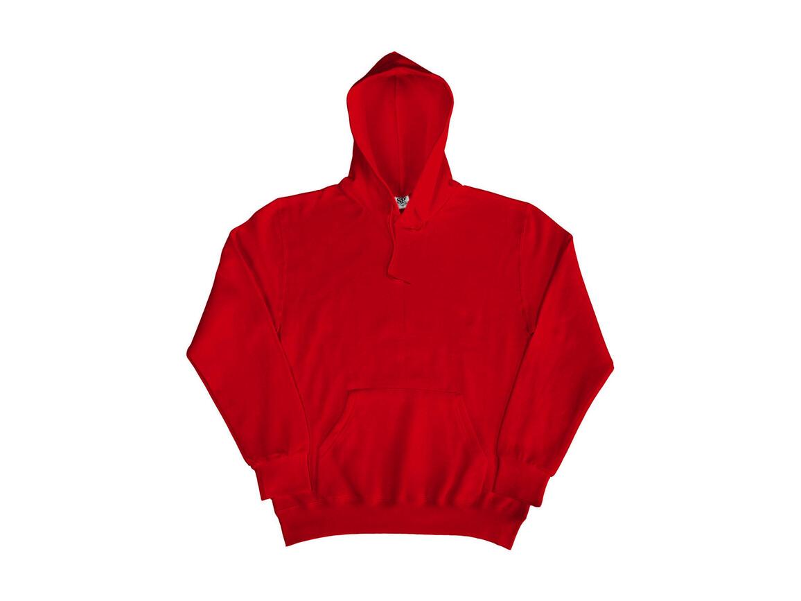 SG Hooded Sweatshirt, Red, M bedrucken, Art.-Nr. 276524004