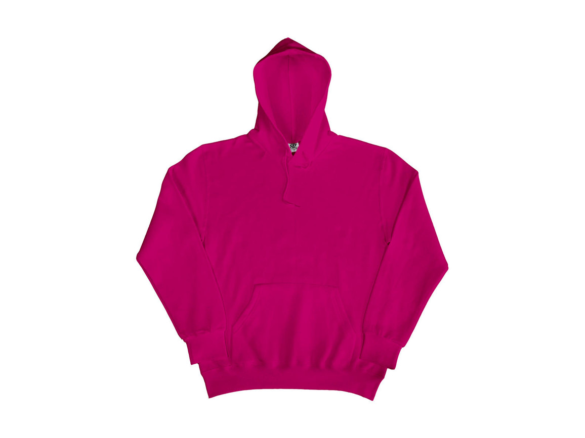 SG Hooded Sweatshirt, Dark Pink, S bedrucken, Art.-Nr. 276524233