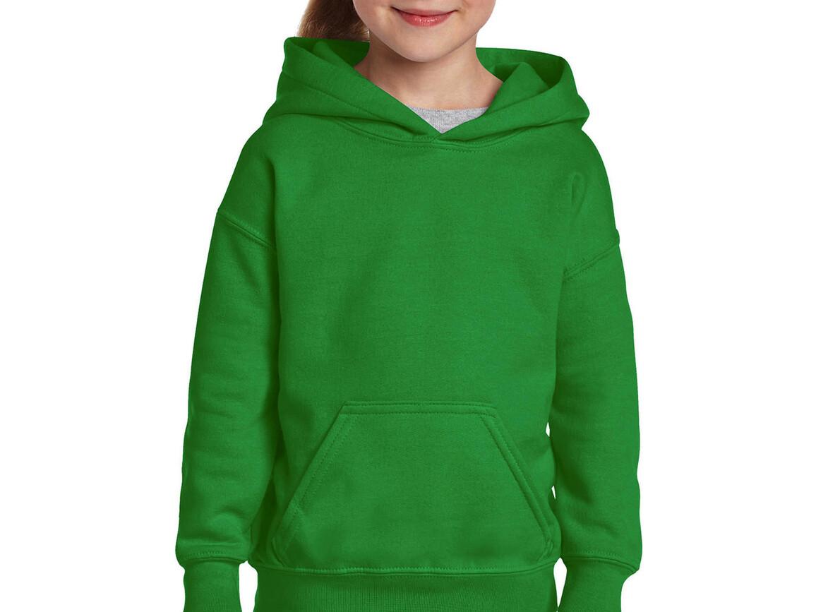 Gildan Heavy Blend Youth Hooded Sweat, Irish Green, L (164) bedrucken, Art.-Nr. 278095095
