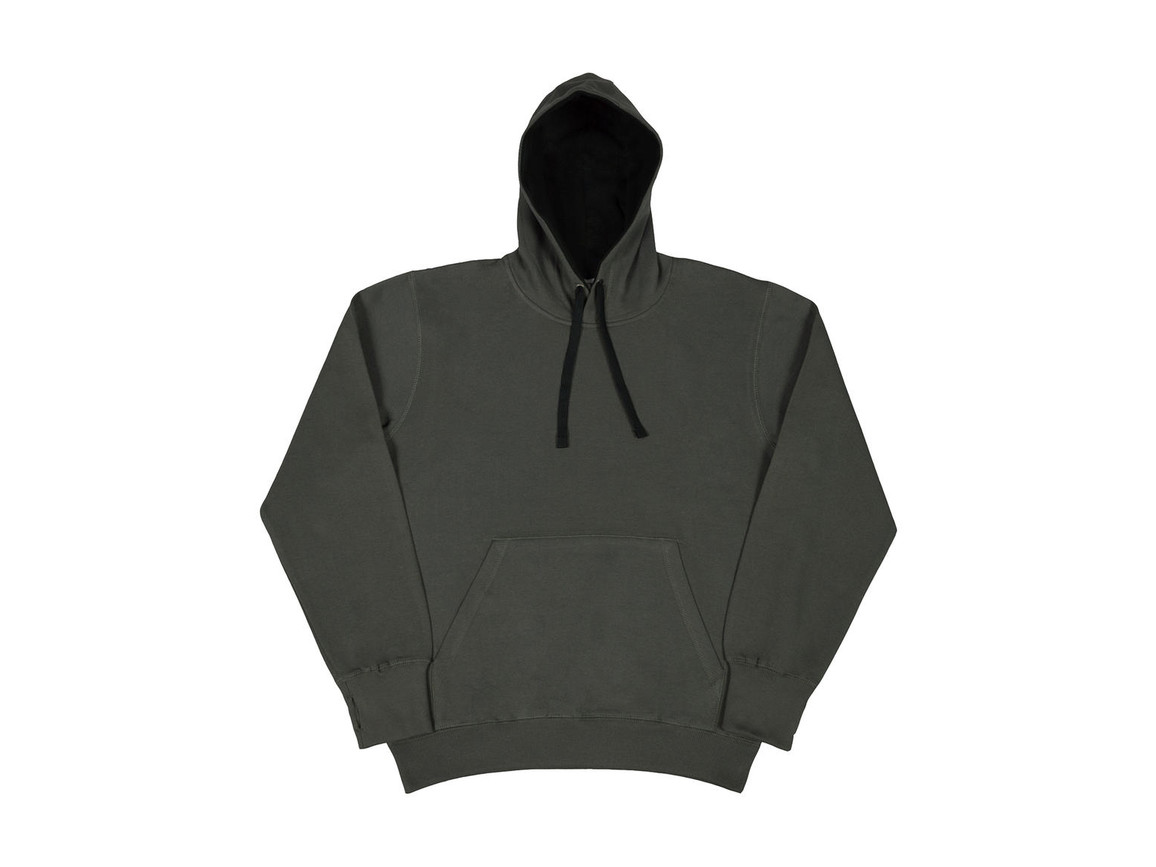 SG Contrast Hoodie, Grey/Black, 3XL bedrucken, Art.-Nr. 281521488