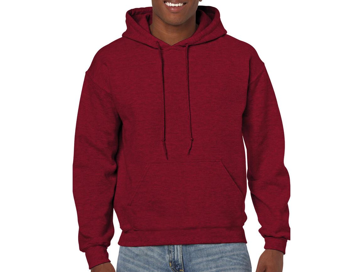 Gildan Heavy Blend™ Hooded Sweat, Antique Cherry Red, L bedrucken, Art.-Nr. 290094075