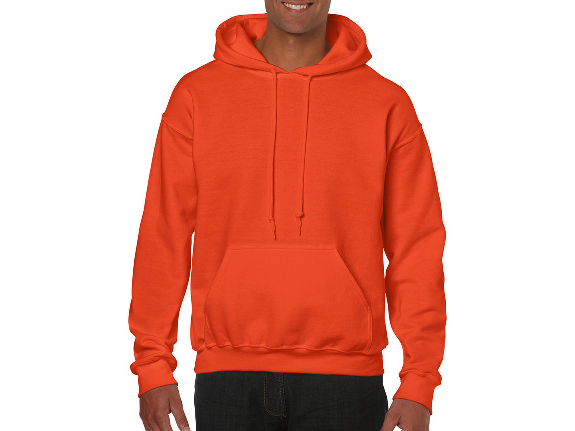 Gildan Heavy Blend™ Hooded Sweat, Orange, S bedrucken, Art.-Nr. 290094103