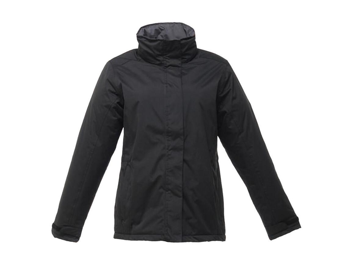 Regatta Ladies` Beauford Insulated Jacket, Black, 10 (36) bedrucken, Art.-Nr. 404171013
