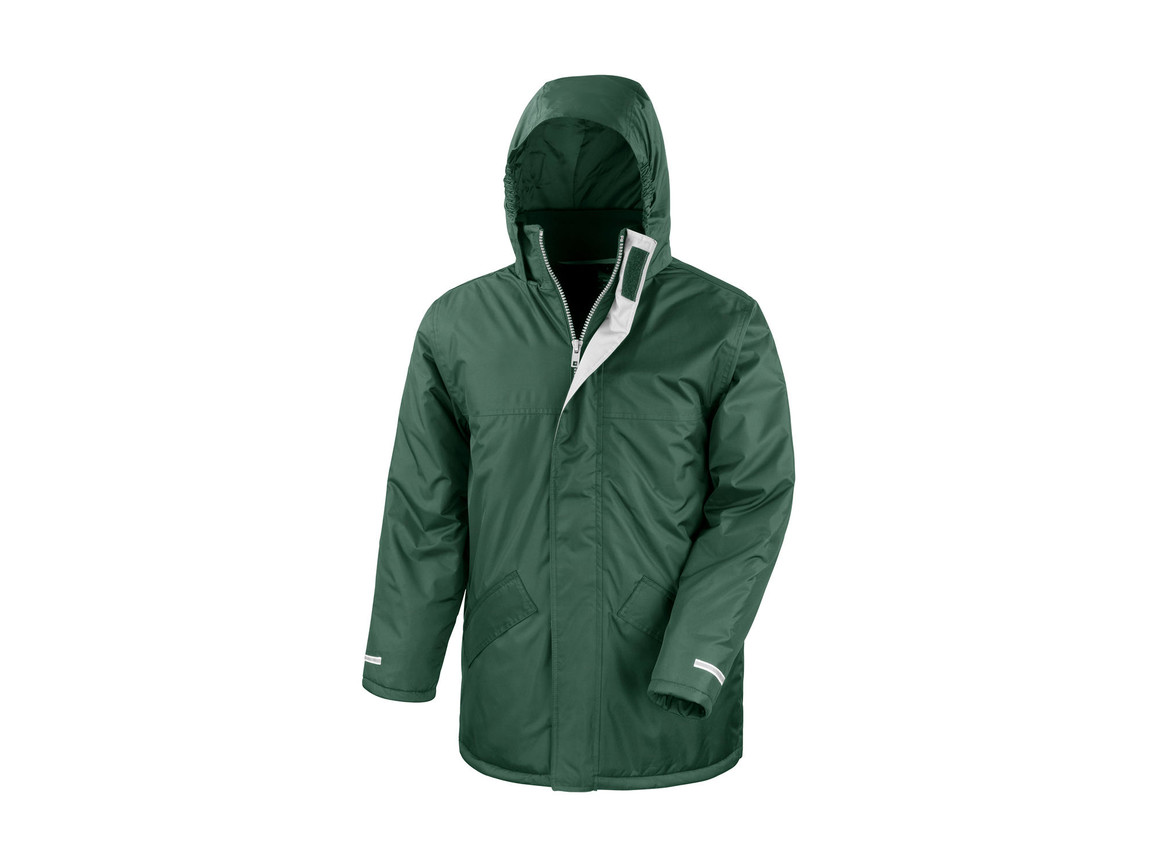 Result Winter Parka, Bottle Green, 2XL bedrucken, Art.-Nr. 422335407