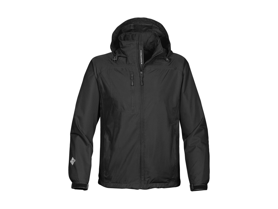 StormTech Stratus Light Shell Jacket, Black, 2XL bedrucken, Art.-Nr. 423181017