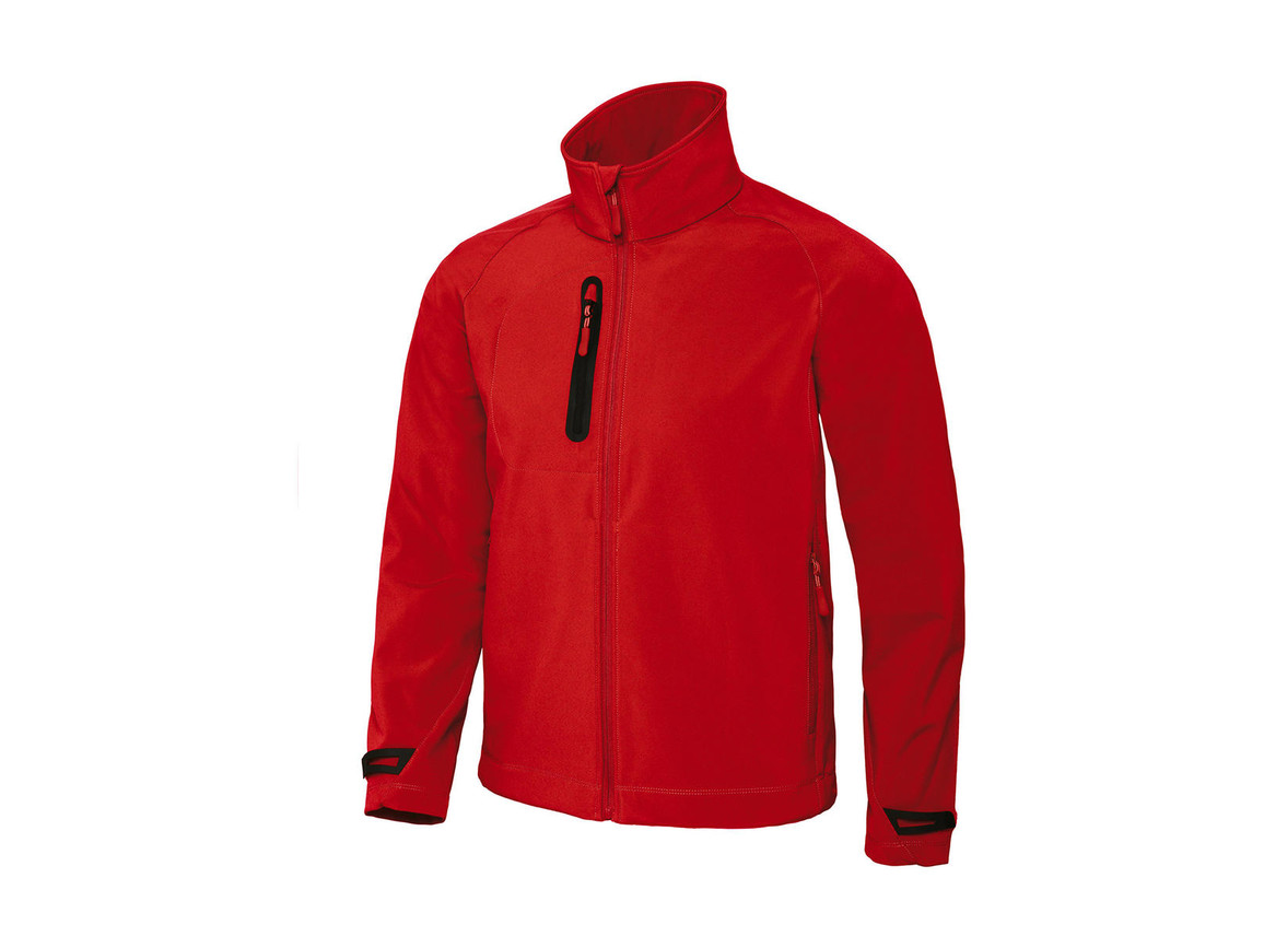 B & C X-Lite Softshell/men Jacket, Deep Red, M bedrucken, Art.-Nr. 438424064