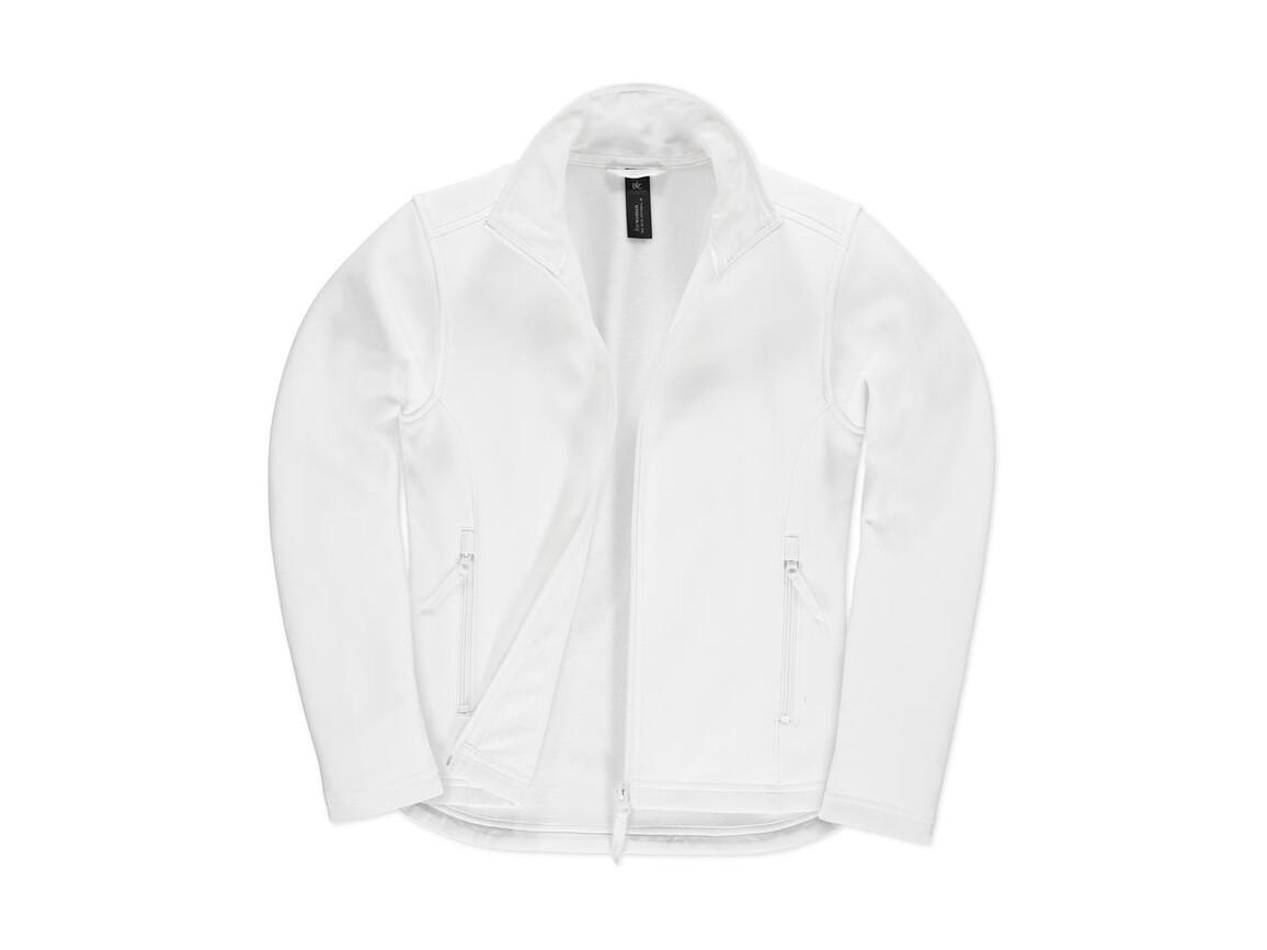 B & C ID.701/women Softshell Jacket, White/White, XS bedrucken, Art.-Nr. 447420702