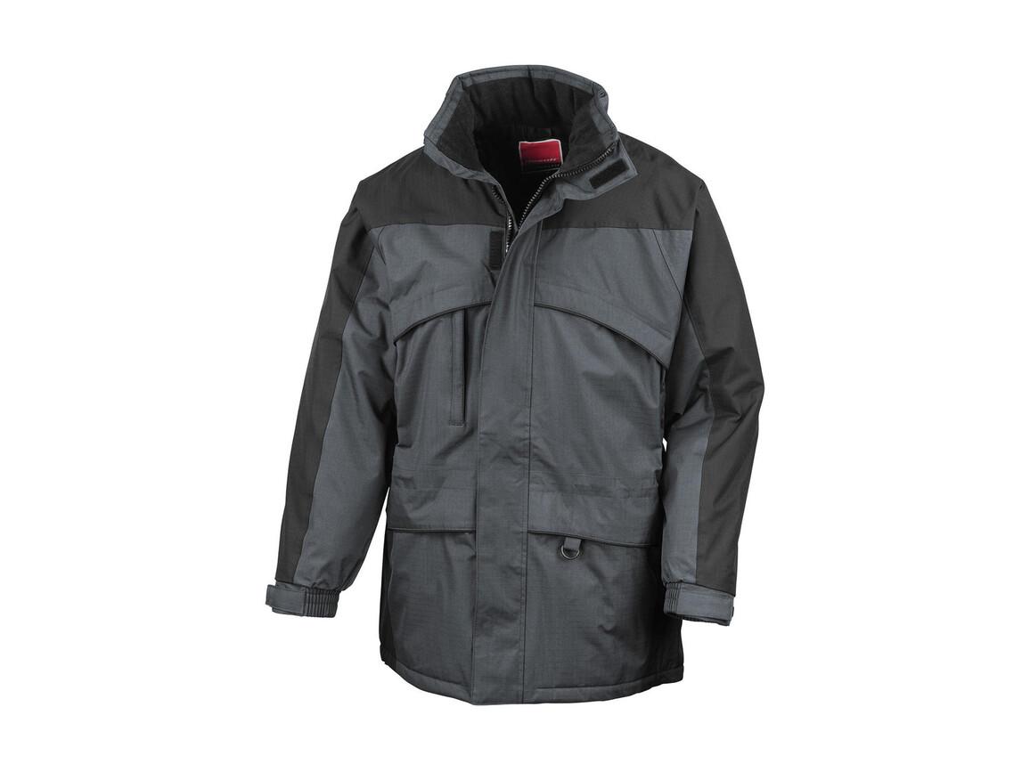 Result Seneca Hi-Activity Jacket, Anthracite/Black, L bedrucken, Art.-Nr. 450331465