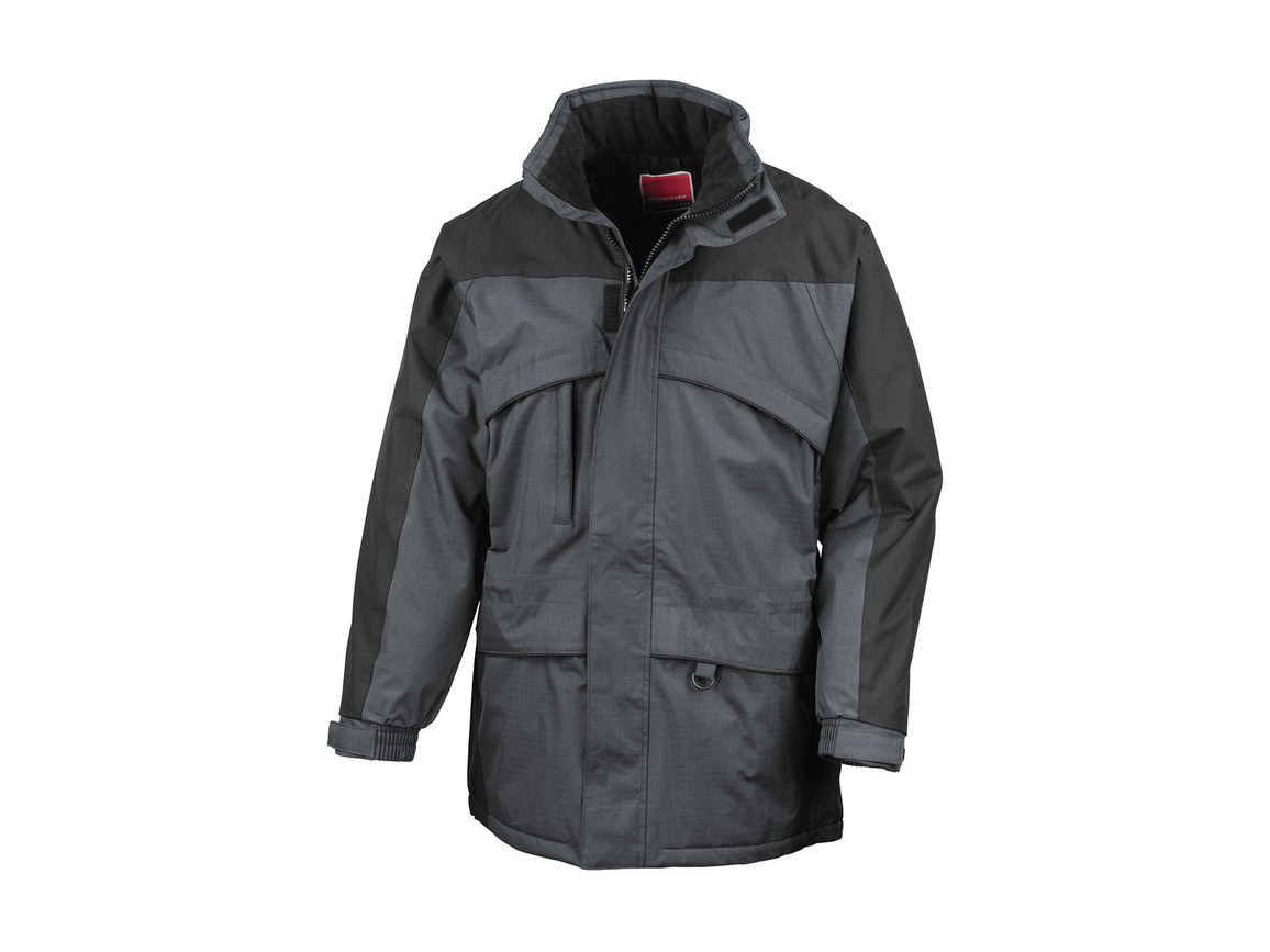 Result Seneca Hi-Activity Jacket, Anthracite/Black, XL bedrucken, Art.-Nr. 450331466