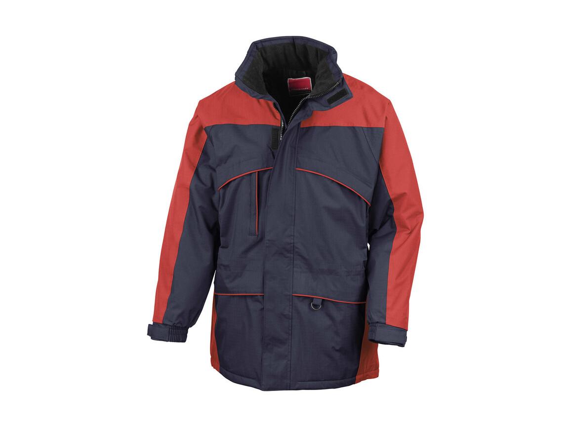 Result Seneca Hi-Activity Jacket, Navy/Red, L bedrucken, Art.-Nr. 450332545