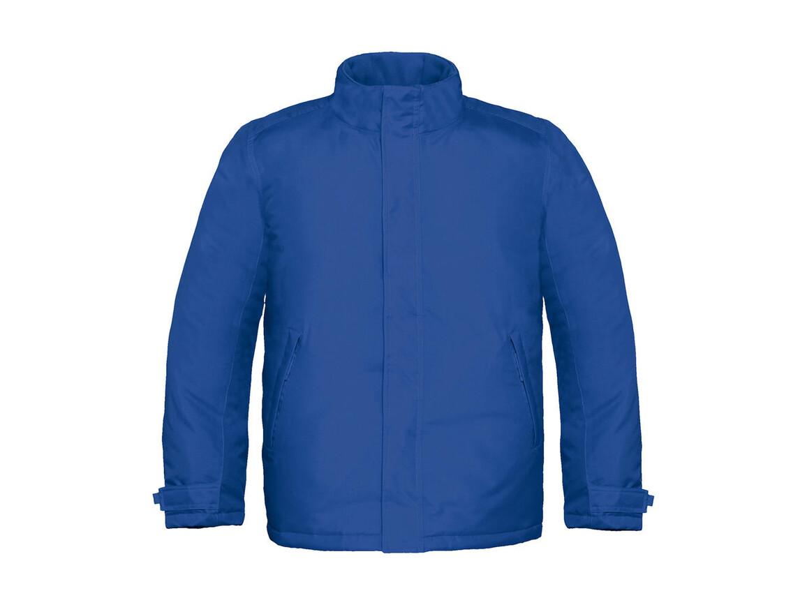 B & C Real+/men Heavy Weight Jacket, Royal, XL bedrucken, Art.-Nr. 452423006