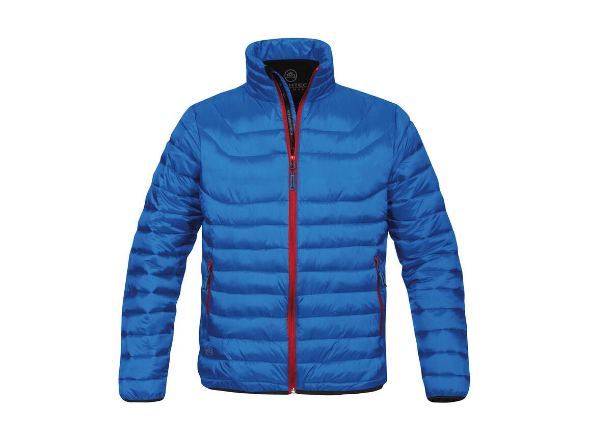 StormTech Ladies` Altitude Jacket, Electric Blue/Flame Red, 2XL bedrucken, Art.-Nr. 454183667