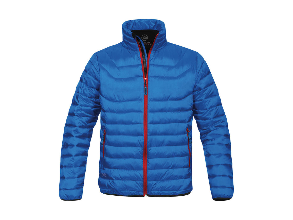 StormTech Ladies` Altitude Jacket, Electric Blue/Flame Red, XL bedrucken, Art.-Nr. 454183666