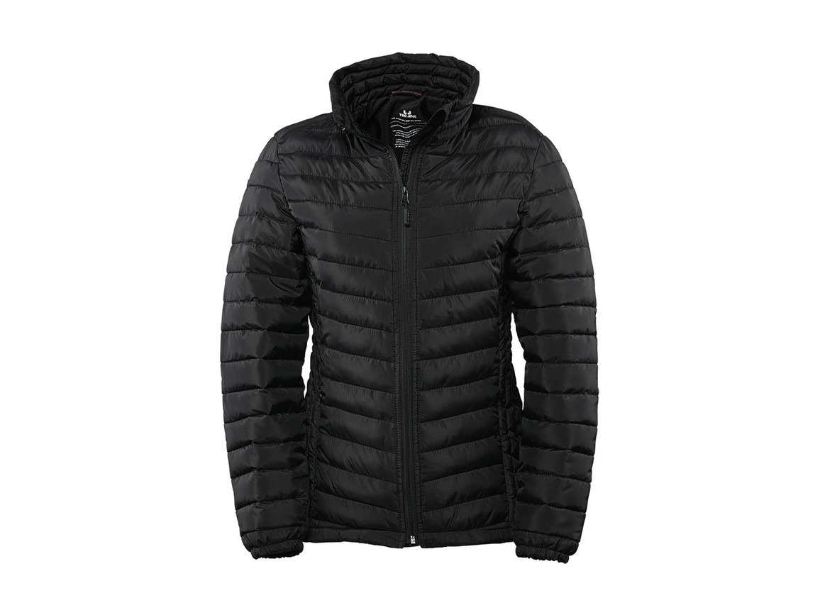 Tee Jays Ladies` Zepelin Jacket, Black, XL bedrucken, Art.-Nr. 454541016
