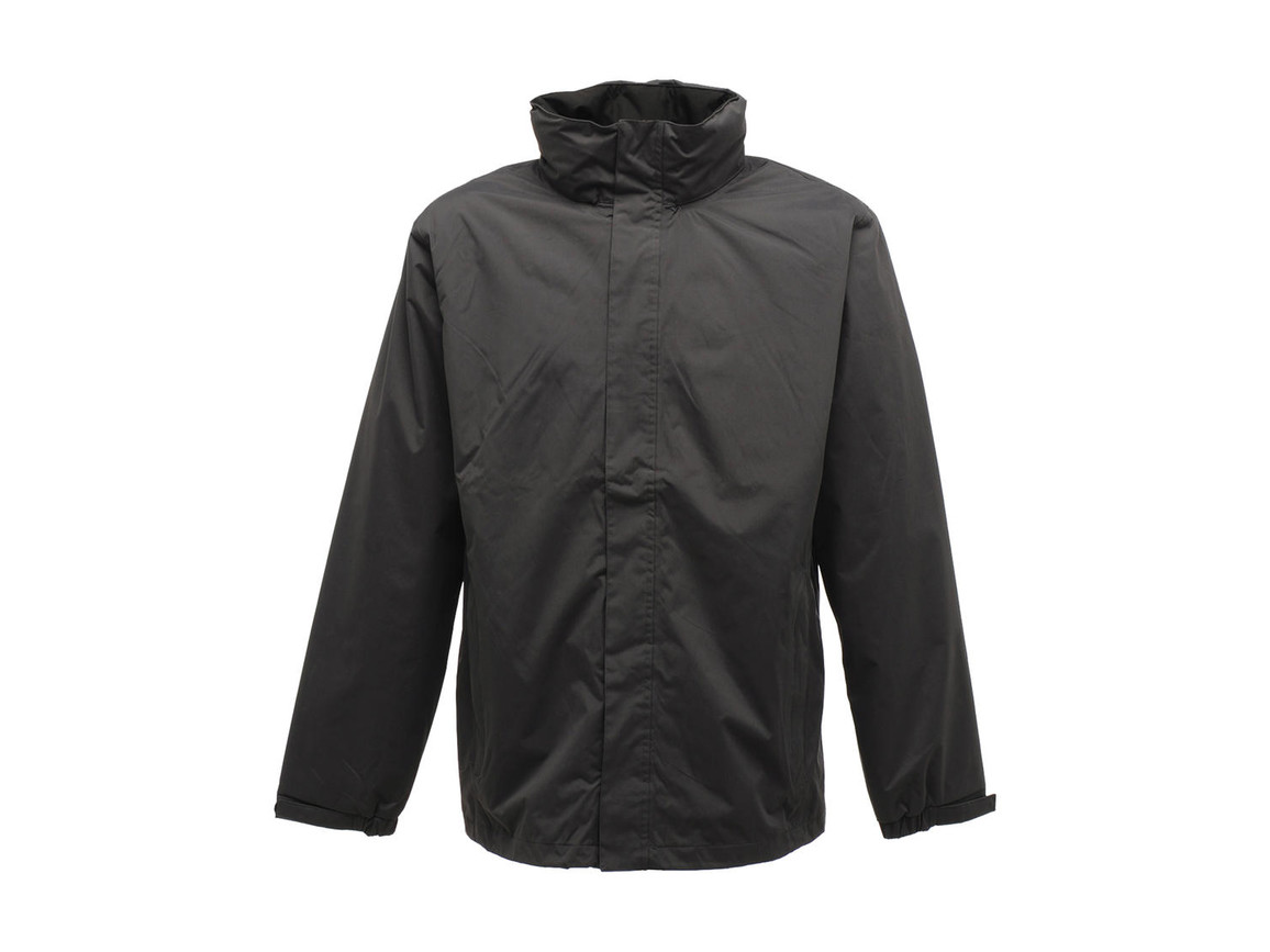 Regatta Ardmore Jacket, Seal Grey/Black, 2XL bedrucken, Art.-Nr. 461171587