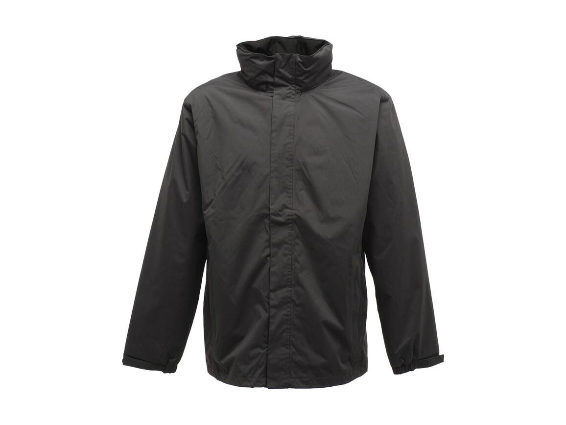 Regatta Ardmore Jacket, Seal Grey/Black, S bedrucken, Art.-Nr. 461171583