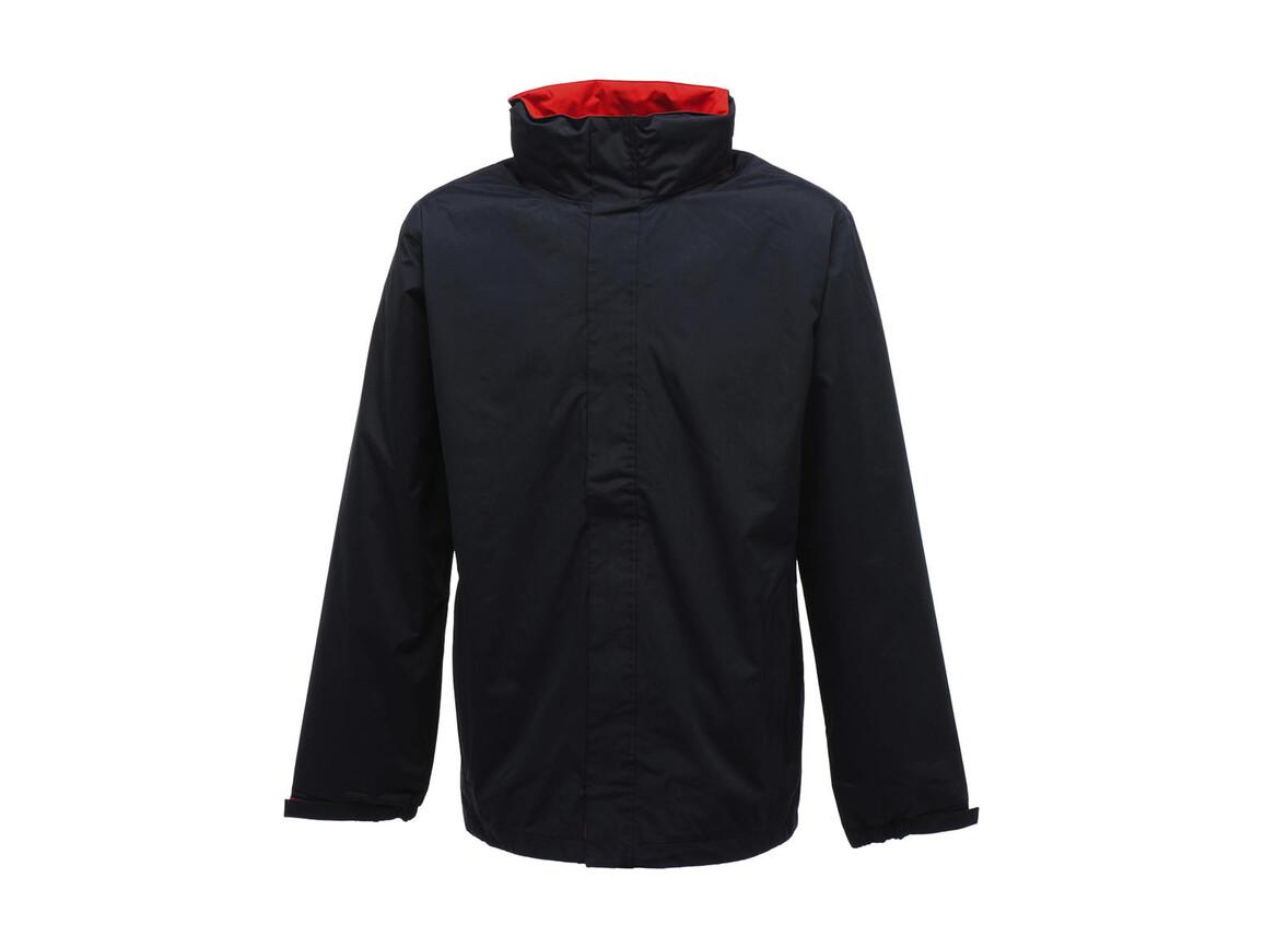 Regatta Ardmore Jacket, Navy/Classic Red, L bedrucken, Art.-Nr. 461172525