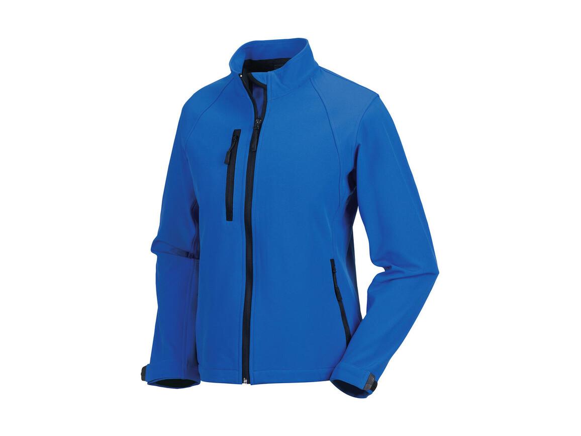 Russell Europe Ladies` Softshell Jacket, Azure, L (40) bedrucken, Art.-Nr. 462003165