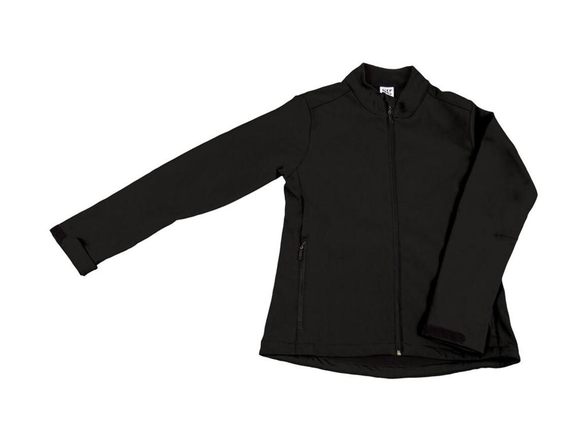 SG Softshell Ladies, Black, XL bedrucken, Art.-Nr. 462521016